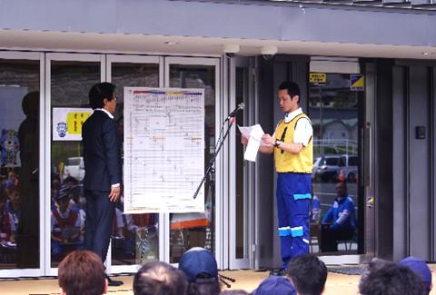 イベント ドライバーコンテスト 選手宣誓