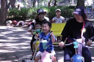 キッズキャンプ 変形自転車