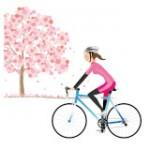 春 桜 サイクリング